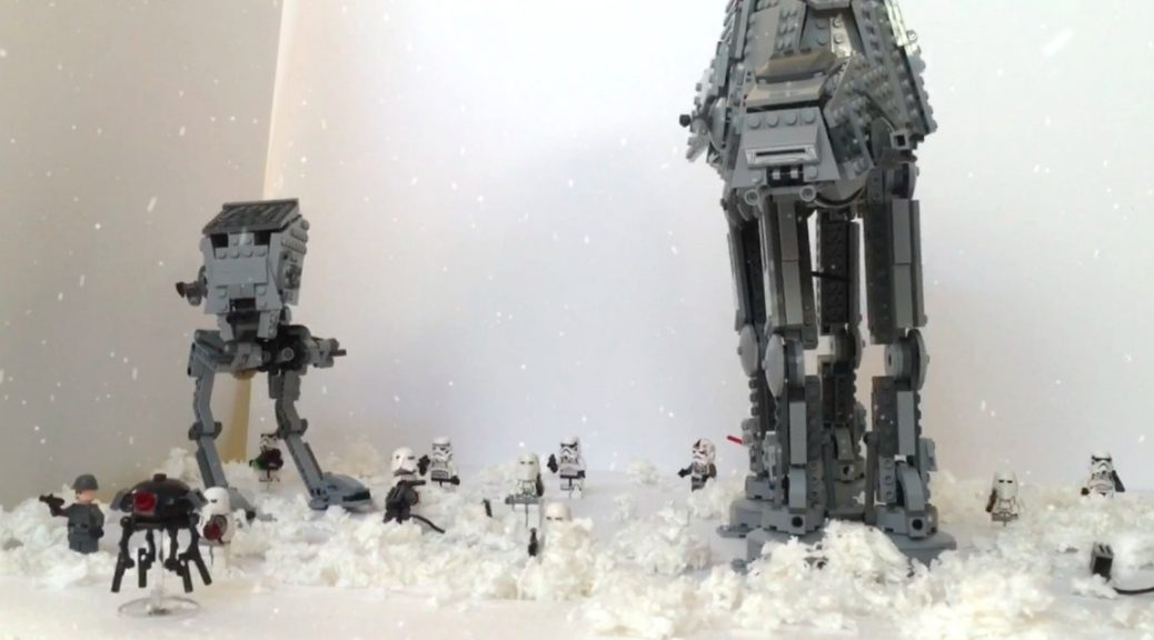 re create the lego star wars hoth battle scene bored. Black Bedroom Furniture Sets. Home Design Ideas