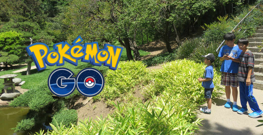 Pokemon Go Adventures at Huntington Library